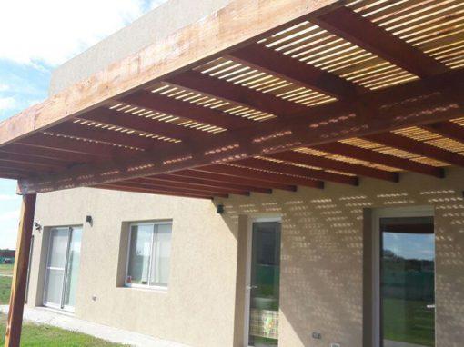 P rgolas de madera dise o y construcci n zona norte - Construccion de pergolas de madera ...
